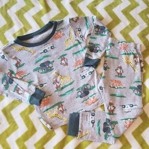Carter's Jungle Safari Pajamas 3t